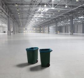 pulizia capannone